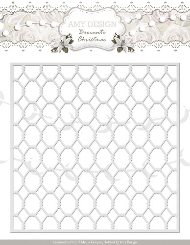 Amy Design - Die - Brocante Christmas - Wire Frame