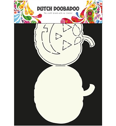 Dutch Doobadoo - Dutch Card Art - Pumpkin
