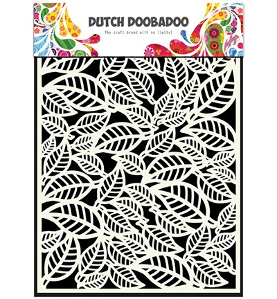 Dutch Doobadoo - Dutch Mask Art - Leaves
