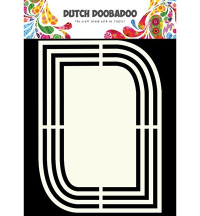 Dutch Doobadoo - Dutch Shape Art - Teardrops