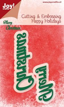 Joy!Crafts - Cutting & Embossing - Merry Christmas