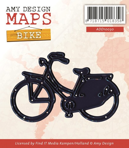 Amy Design - Die - Maps - Bike