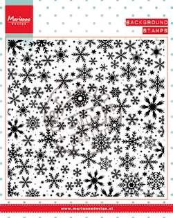 Marianne Design - Clearstamp - Ice crystals