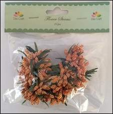 Dixi Craft - Flower Sterms - Orange