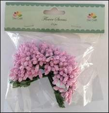 Dixi Craft - Flower Sterms - Pink