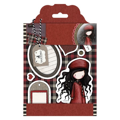 DoCrafts - Rubber Stamps - Santoro - Gorjuss - The Winter&#96s Night