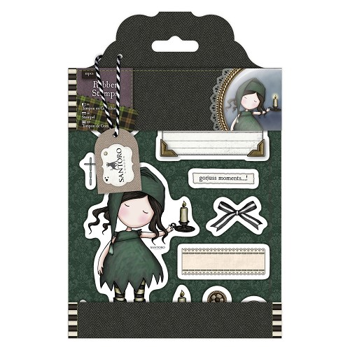 DoCrafts - Rubber Stamps - Santoro - Gorjuss - Nightlight