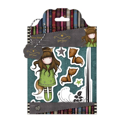 DoCrafts - Rubber Stamps - Santoro - Gorjuss - The Fox