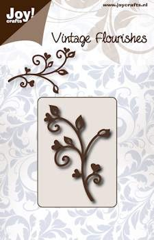 Joy!Crafts - Cutting & Embossin -  Vintage Flourishes - Takje