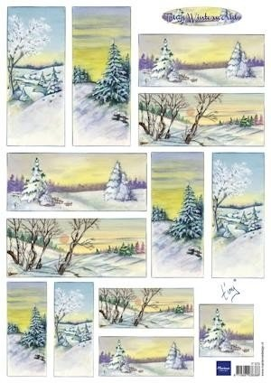 Marianne Design - Marrianne Design - Tiny`s Winterworld