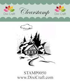 Dixi Craft - Clearstamp - Christmas landscape