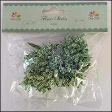 Dixi Craft - Flower Sterms - Green