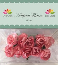 Dixi Craft - Artificial Flowers - rozen - Rose