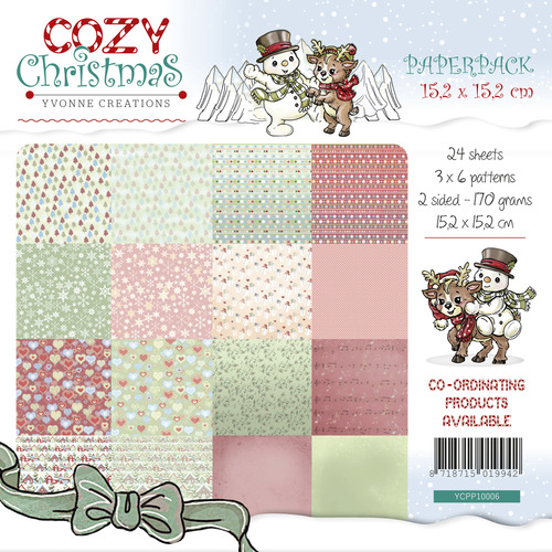 Yvonne Creations - Paperpack - Cozy Christmas