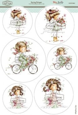 The Hobby House - Wee Stamp toppers - Stansvel - Spring Bringer
