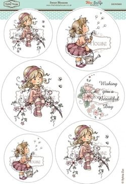 The Hobby House - Wee Stamp toppers - Stansvel - Sweet Blossom