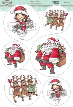 The Hobby House - Kenny K toppers - Stansvel - Festive Cheer