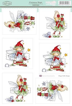 The Hobby House - Sugar Nellie toppers - Stansvel - Christmas Magic