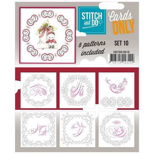 Card Deco - Stitch & Do - Cards only - Set 10