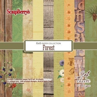 ScrapBerry`s - Paper Collection - Forest