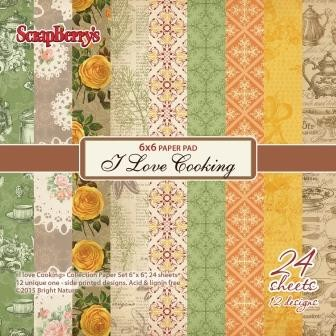 ScrapBerry`s - Paper Collection - I love Cooking