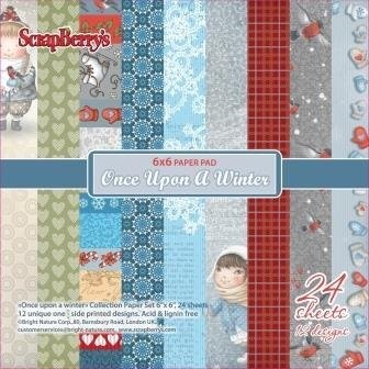 ScrapBerry`s - Paper Collection - Once upon a winter