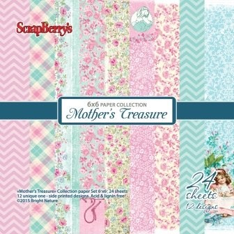 ScrapBerry`s - Paper Collection - Mother`s Treasure