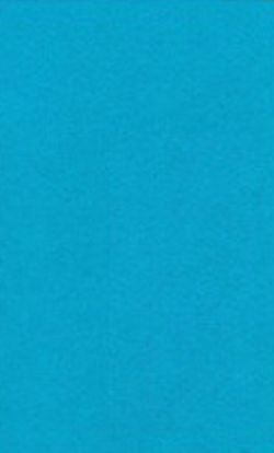 Hobby & Crafting Fun - 5x synthetisch vilt A4 1 mm - Turquoise
