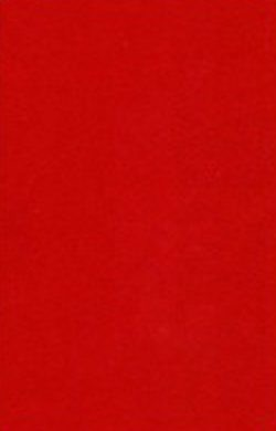 Hobby & Crafting Fun - 5x synthetisch vilt A4 1 mm - Rood