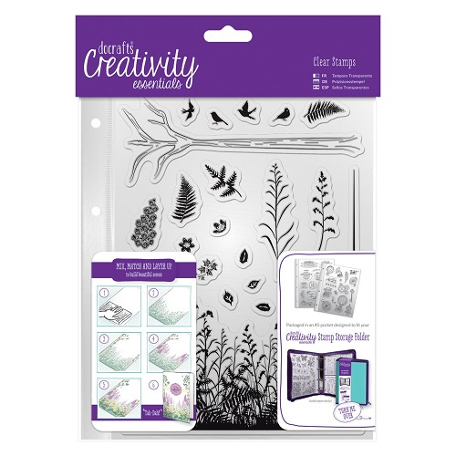 DoCrafts - Clear Stamp Set - Forest