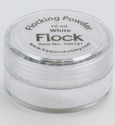 KippersHobby - Flock Powder - White