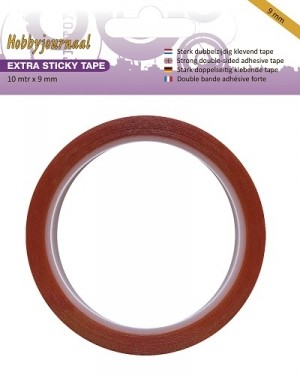 Hobbyjournaal - Extra Sticky Tape - 6mm