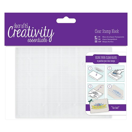 DoCrafts - Clear Stamp Blocks - A6