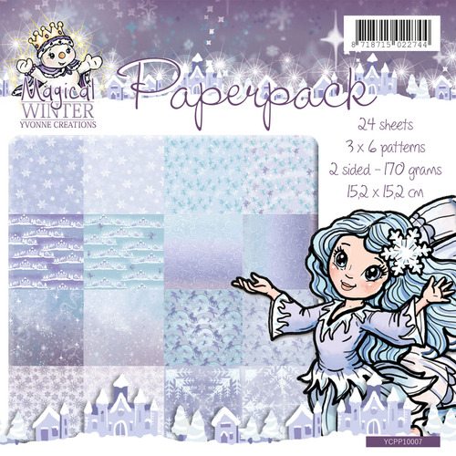 Yvonne Creations - Paperpack - Magical winter