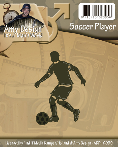 Amy Design - Die - Its a Mans World - Soccer player