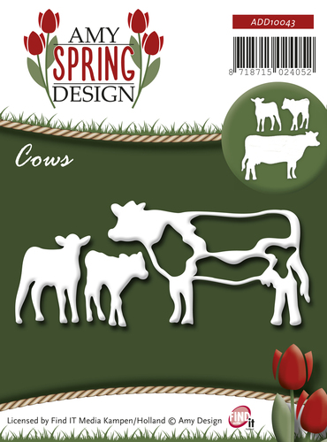 Amy Design - Die - Spring - Cows