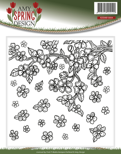 Amy Design - Embossing Folder - Spring