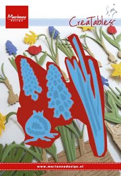 Marianne Design - Die - Creatables - Stencil Tiny`s grape hyacinths