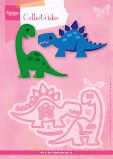 Marianne Design - Die - Collectables - Set stencil Eline`s dino`s
