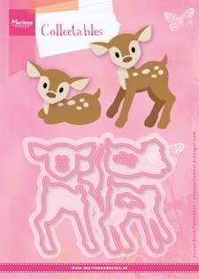 Marianne Design - Die - Collectables - Set stencil Eline`s deer