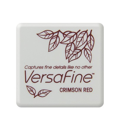 Versafine - Small Inkpad - Crimson red