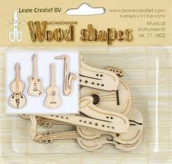 Leane Creatief - Leane Wood shapes musical instruments