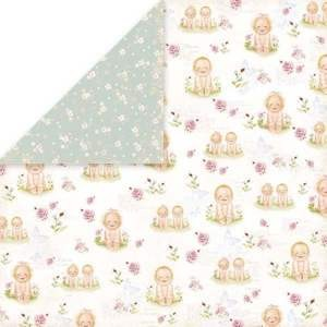 Craft & You Design - Scrapbook paper - New Baby Born 01