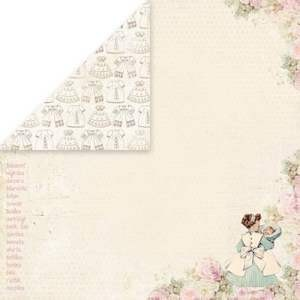 Craft & You Design - Scrapbook paper - New Baby Born 06
