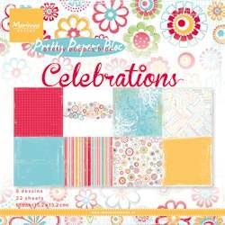 Marianne Design - Pretty Papers Bloc - Celebrations