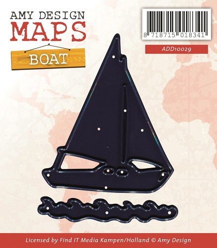 Amy Design - Die - Maps - Boat
