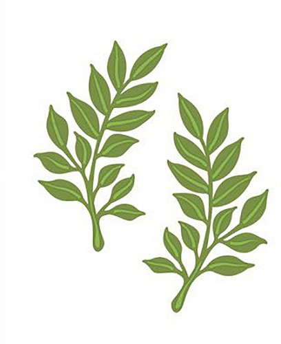 Creative Expressions - Craft Dies - Finishing Touches - Laurel Leaves