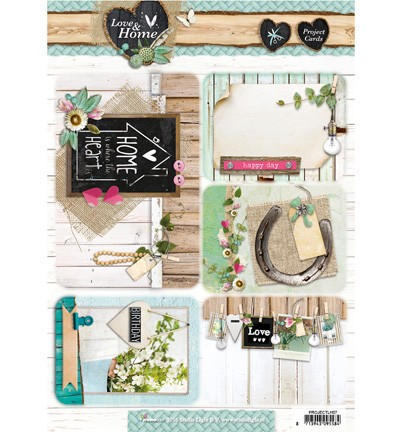 Studio Light - Projectcards - Love & Home nr.07