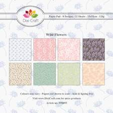 Dixi Craft - Paperpack - Wild flowers - Mix