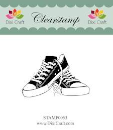 Dixi Craft - Clearstamp - Shoes